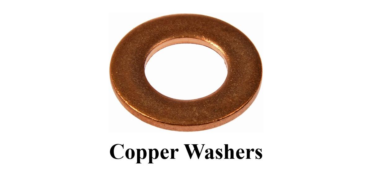 Copper Lock Washer : Copper washers hero metal works washersmanufacturers